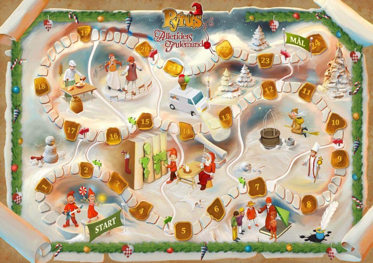 Fra 1. december sender TV 2 en af sine største og mest klassiske julekalendere, 'Pyrus – Alletiders julemand'.
