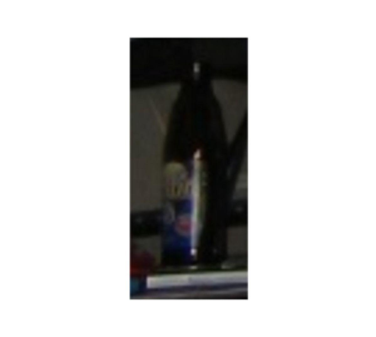 Har du set denne slags flaske før? Foto: Europol