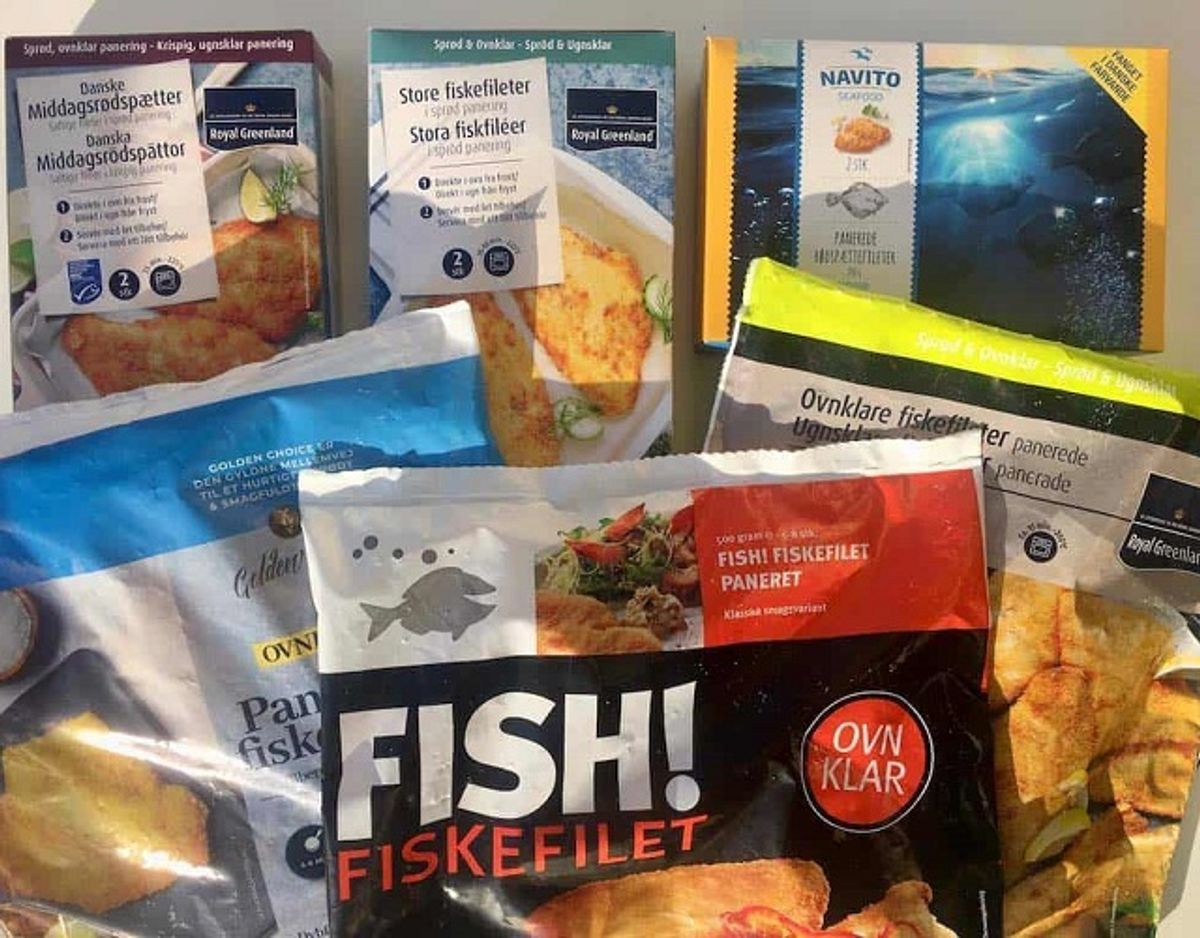 KLIK VIDERE i den store fiskefilet-test. Se hvor mange stjerner de forskellige fiskefileter får – og læs hvorfor. Testvinderen er en sand lækkerbisken! Foto: Madens Verden.