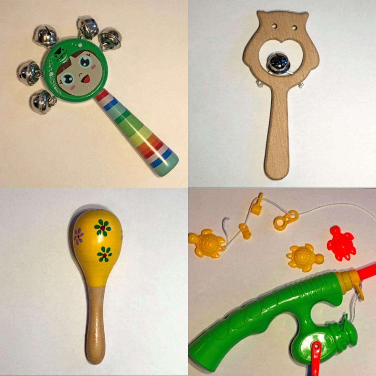 Sikkerhedsstyrelsen advarer mod forskellige former for legetøj. Blandt andet dette. KLIK for flere billeder. Foto: Sikkerhedsstyrelsen.