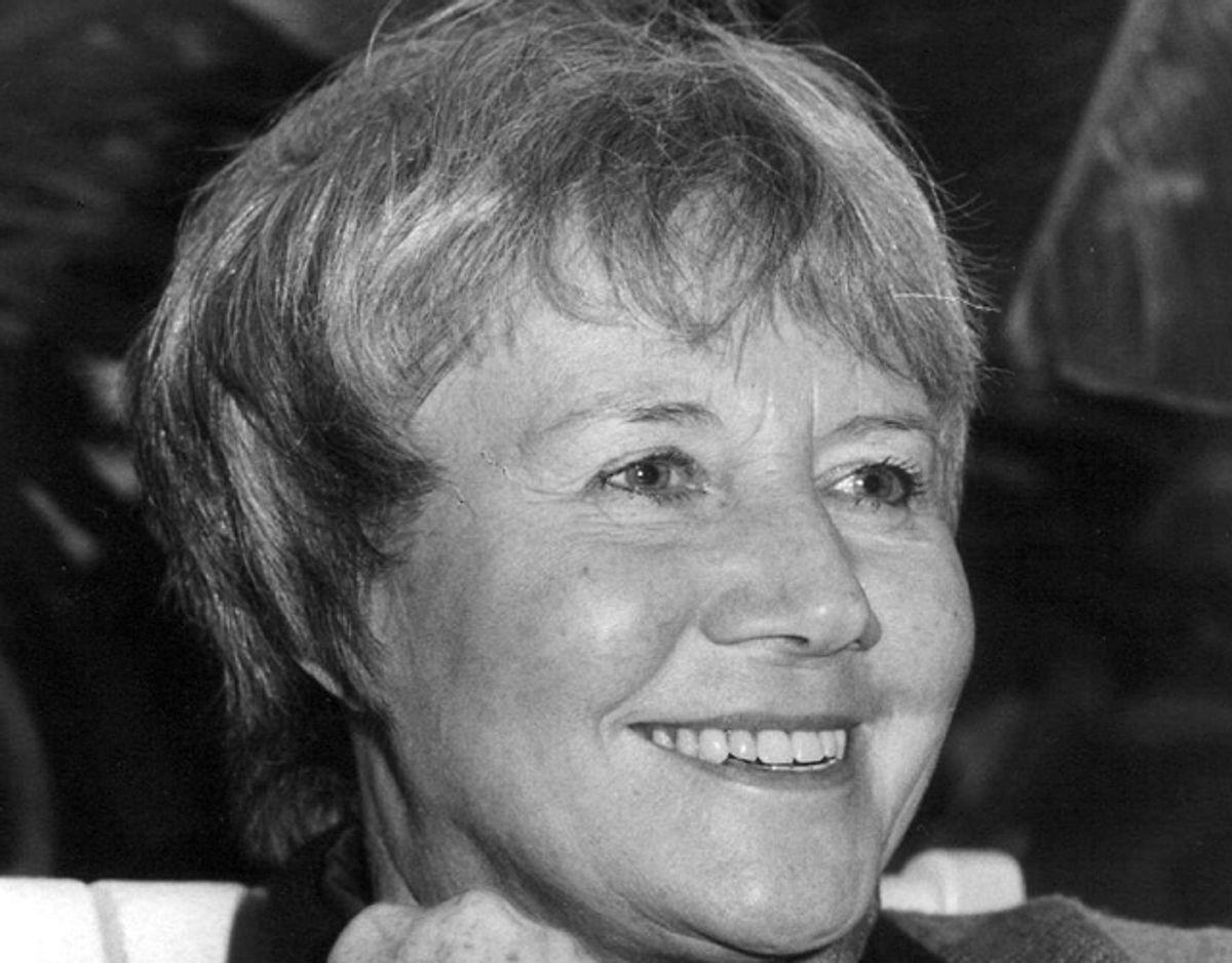 TV-værten Jytte Dreyer er død. Hun blev 92 år gammel. Foto: NORDFOTO/Scanpix.