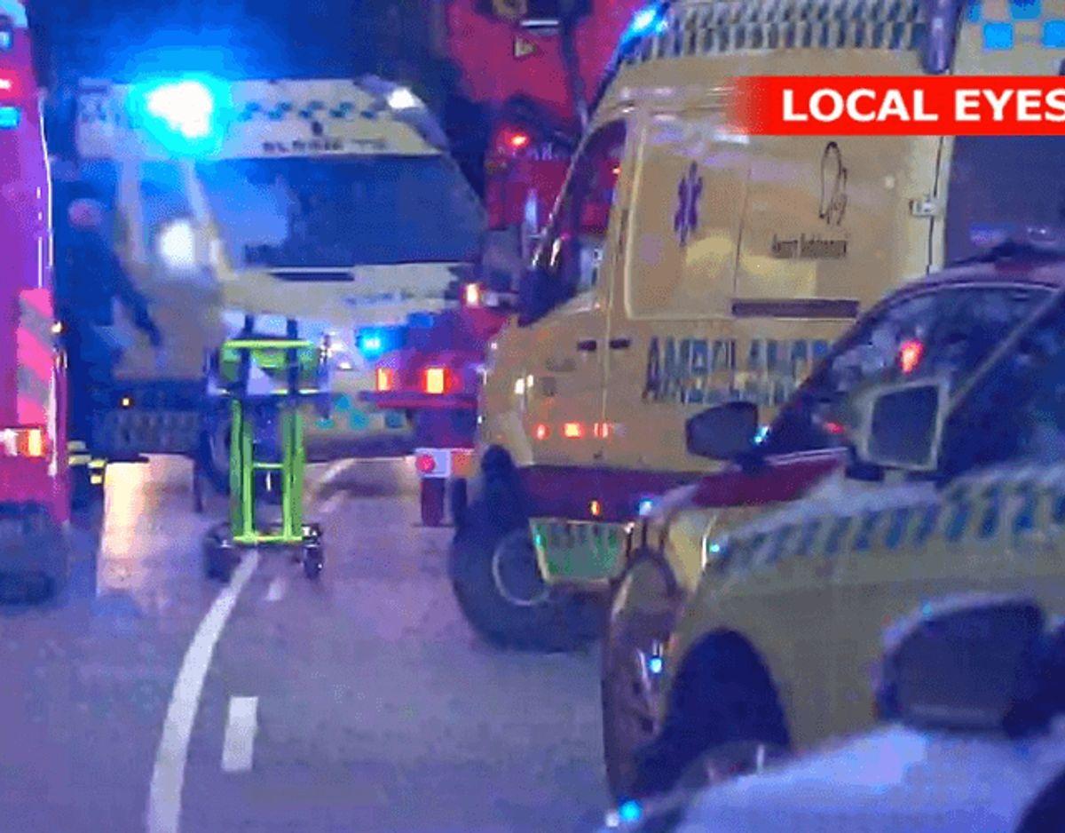 En 27-årig mand mistede lørdag livet i en ulykke på Fyn. KLIK for flere billeder fra den blodige weekend. Foto: Local Eyes.