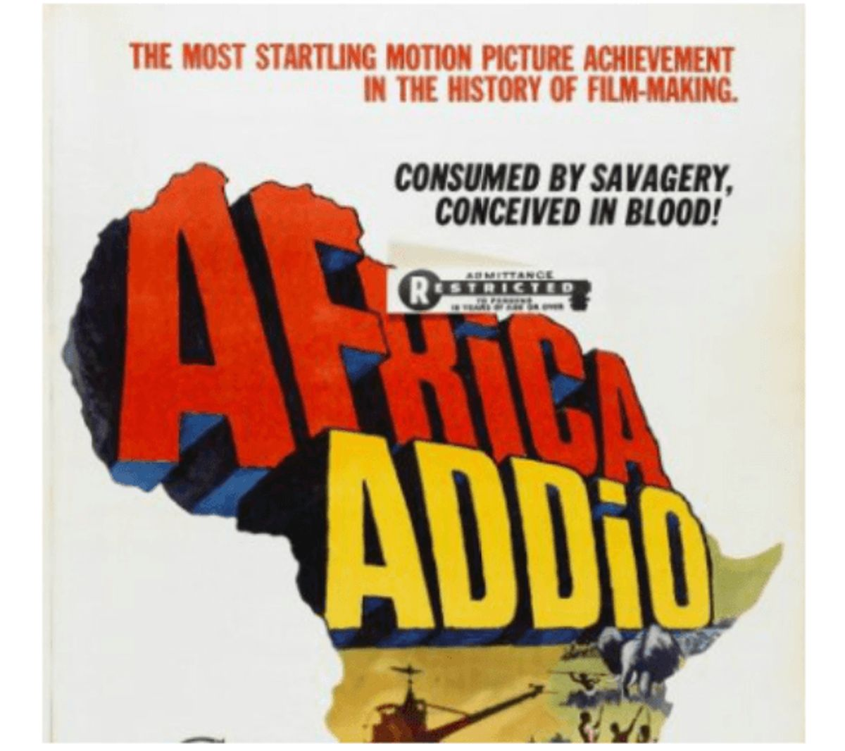 Farewell Africa – 6.000 kroner. Foto: DBA Guide