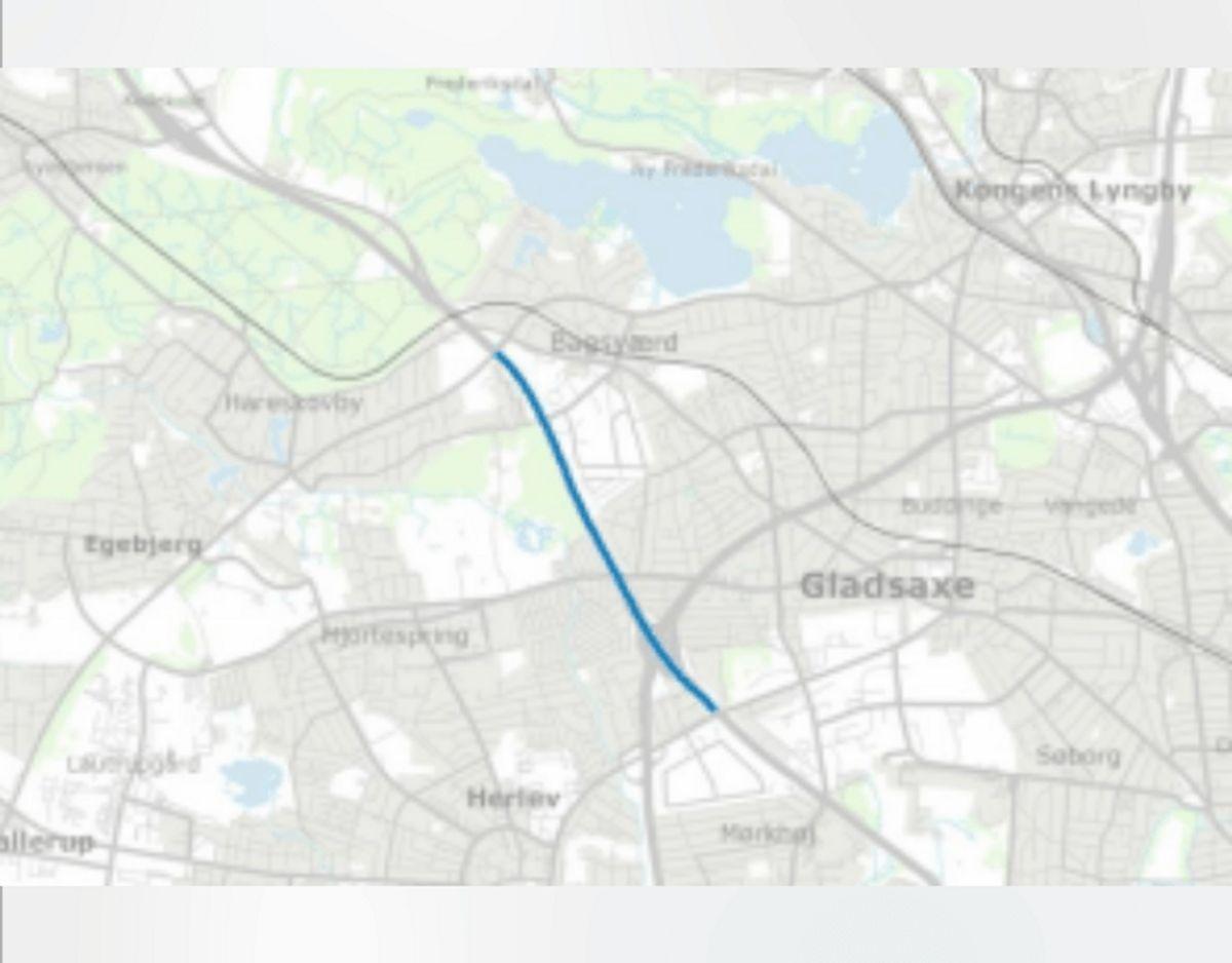 Udvidelse af Hillerødmotorvejen, M3 til Ring 4 (begge retninger). Foto: TRM.dk