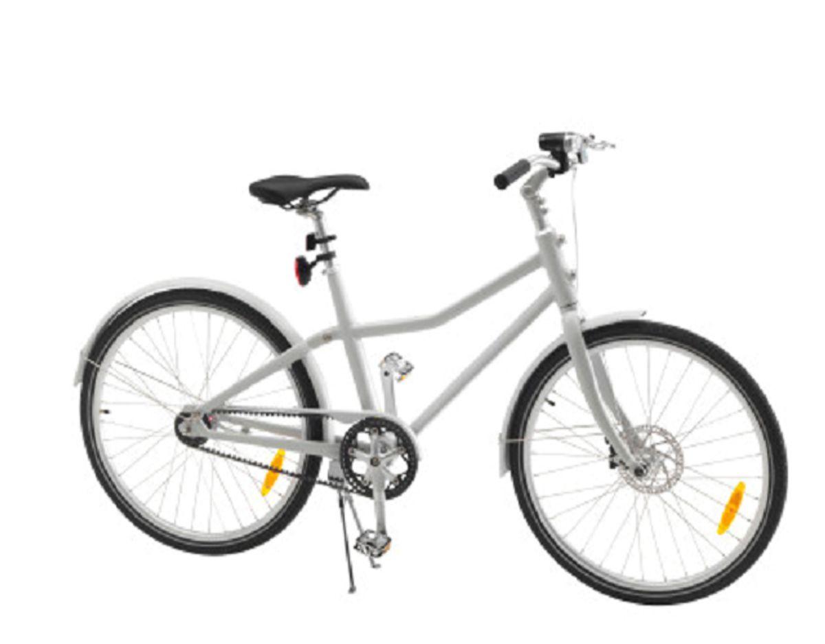 Sådan ser den omtalte – og farlige – cykel ud. Stop med at køre på den øjeblikkeligt. KLIK dig videre og se andre tilbagetrukne varer fra det populære varehus. Foto: Ikea.
