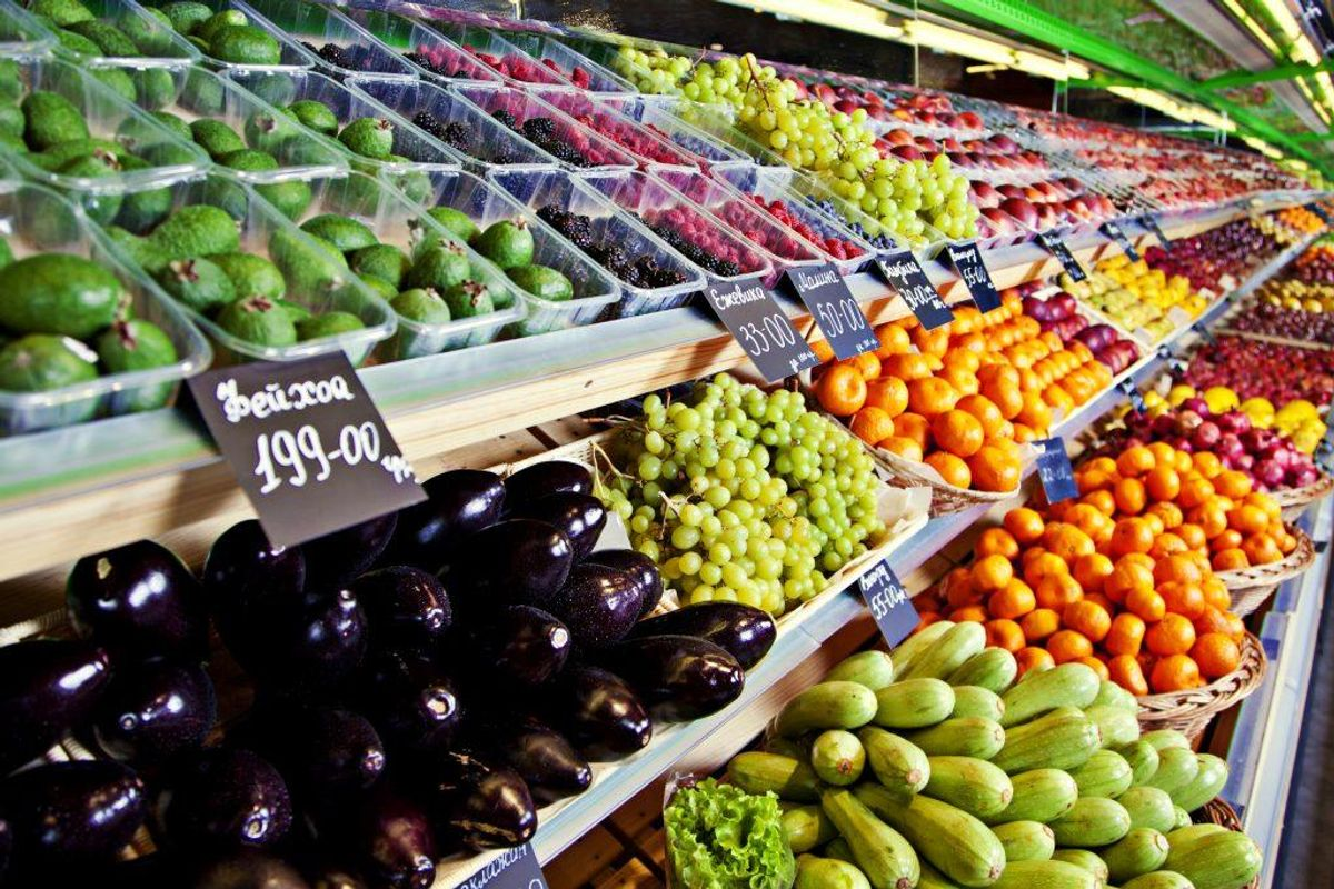 1: Dyrk dine egne grøntsager og frugter.