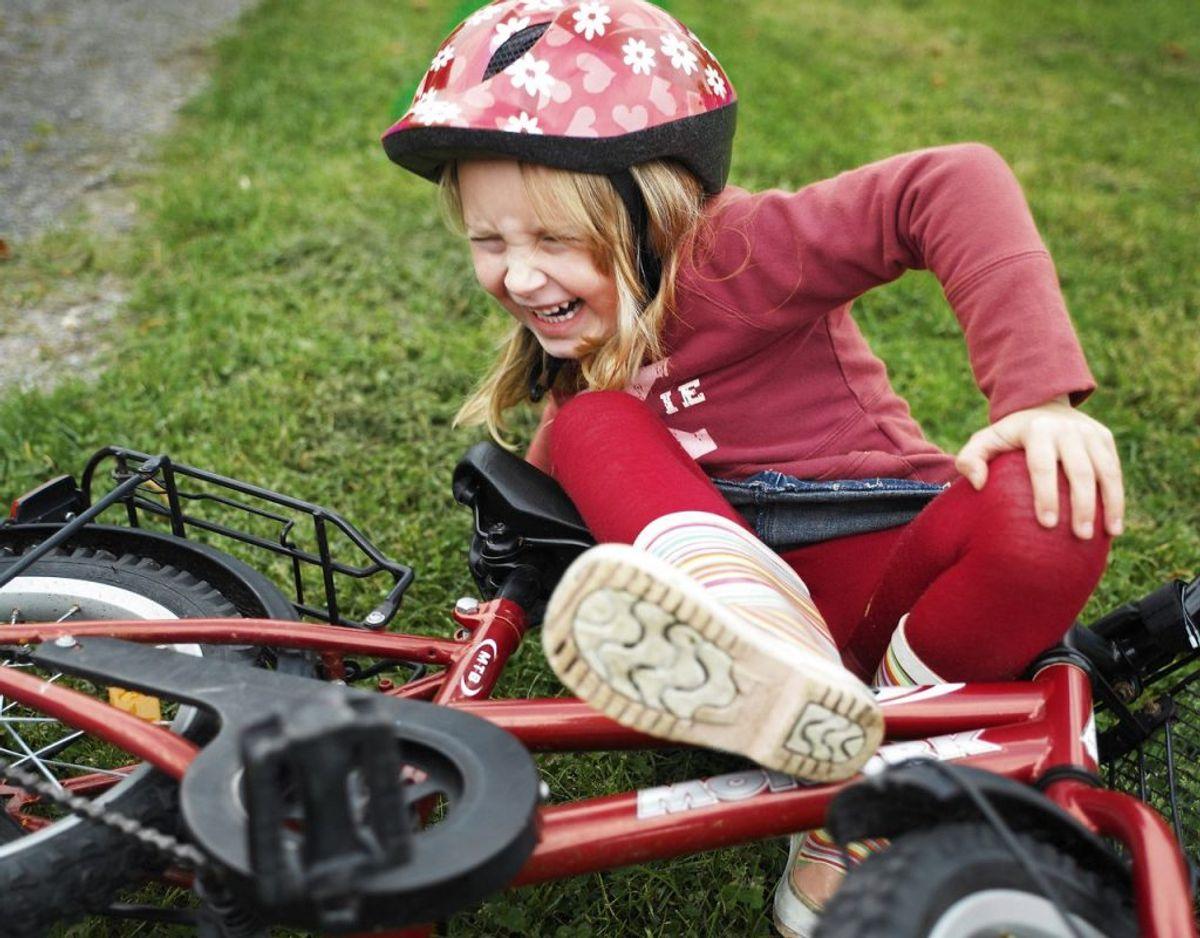 1. Børn skal tænke på egen sikkerhed og redde sig selv først ved en ulykke. Foto: Rommel