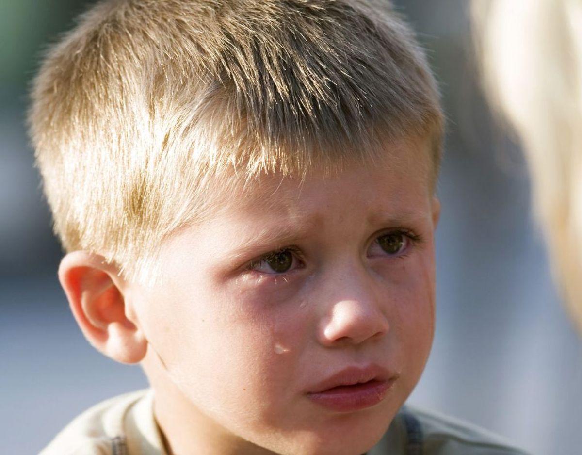 3. Gør det klart, at voksne vil hjælpe og ikke straffe, hvis nogen er kommet til skade. Foto: Johner RF