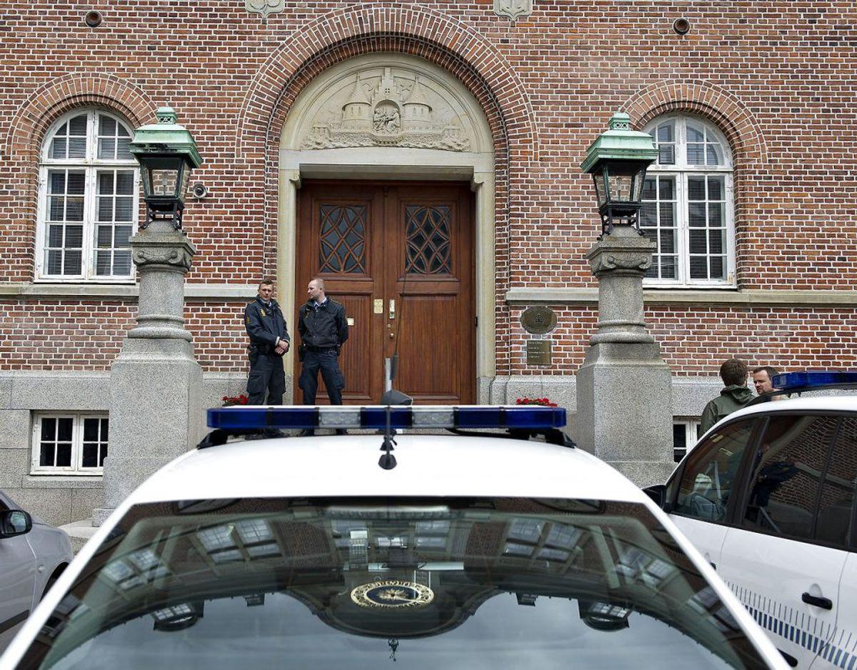 60 dages fængsel. Sådan lød dommen tirsdag i Retten i Aarhus. Arkivfoto: Henning Bagger/ Ritzau Scanpix
