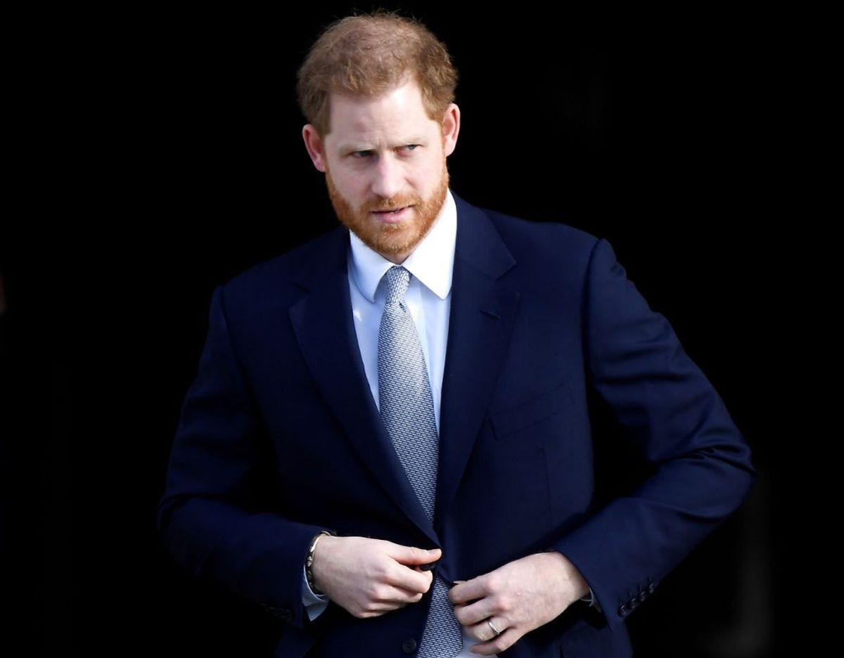 Prins Harry får voldsom kritik af journalist og forfatter Robert Jobson for sit nylige podcast interview med den amerikanske skuespiller Dax Shepherd. Foto: Scanpix/REUTERS/Toby Melville