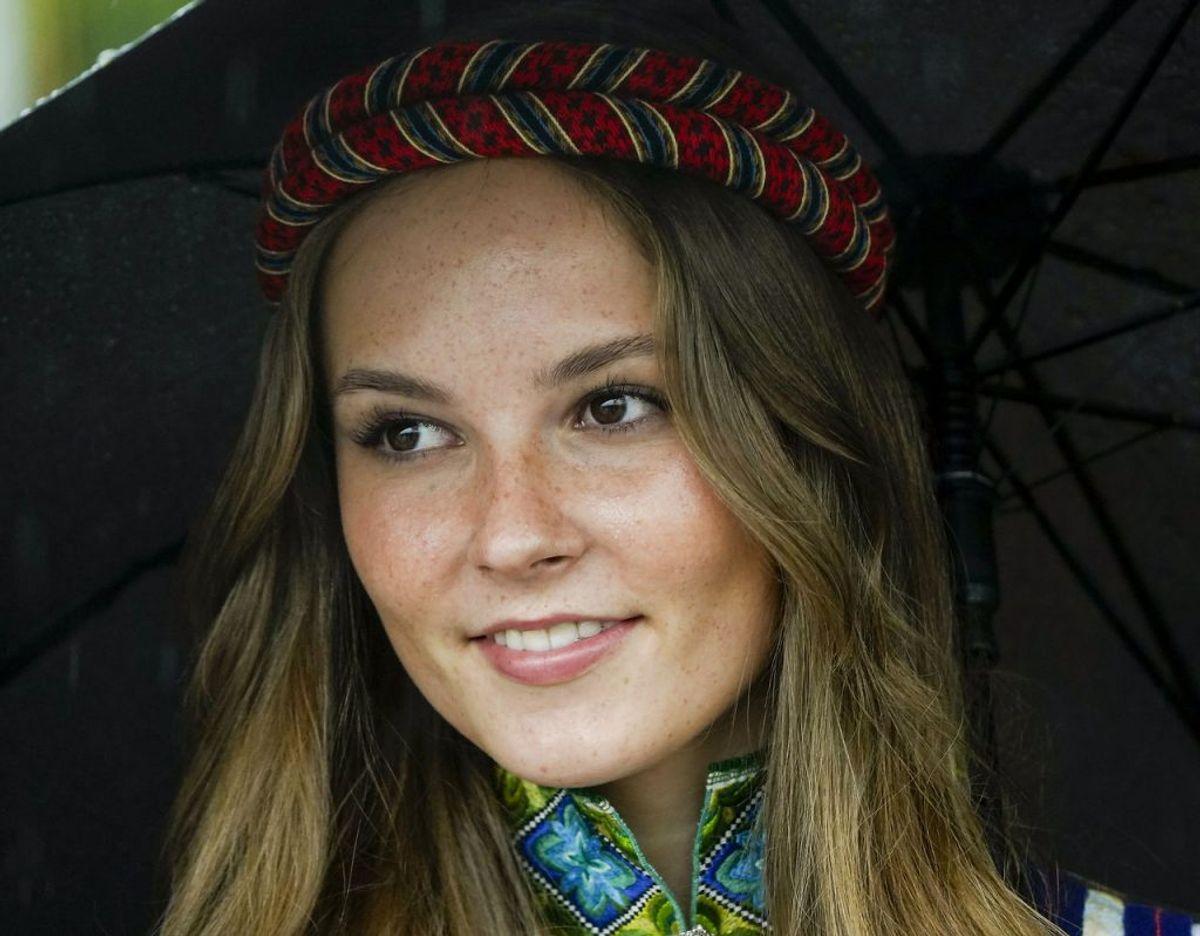 Endnu et foto af den smukke, norske prinsesse. Foto: Scanpix/Lise Åserud / POOL / NTB