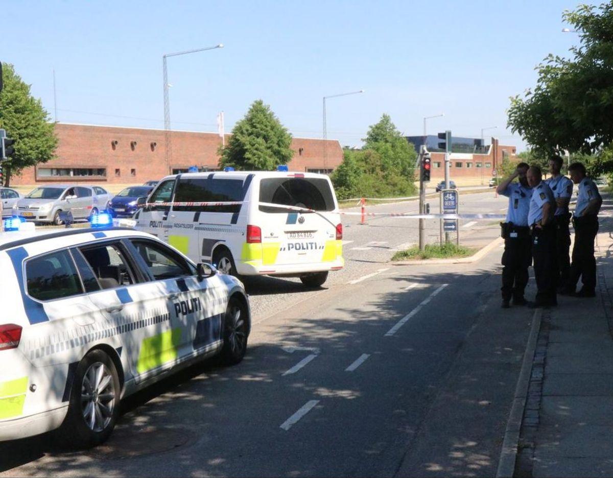 I 2018 blev Ida Philbert Vangsø Ottzen dræbt i samme kryds. Foto: Øxenholt Foto.