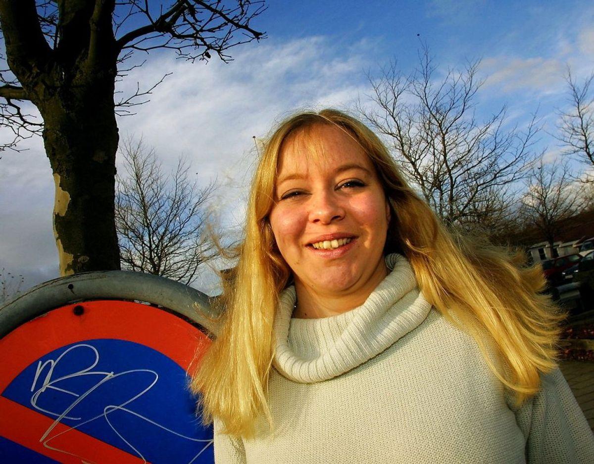 Karina Sørensen var 19 år, 7 måneder og 12 dage gammel, da hun blev valgt til folketinget for Dansk Folkeparti den 20. november 2001. Foto: Scanpix.