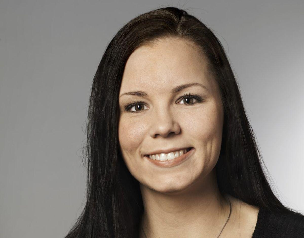 Mia Falkenberg var 21 år, 4 måneder og 19 dage gammel, da hun blev valgt til Folketinget for Dansk Folkeparti den 8. februar 2005. Foto: Folketinget.