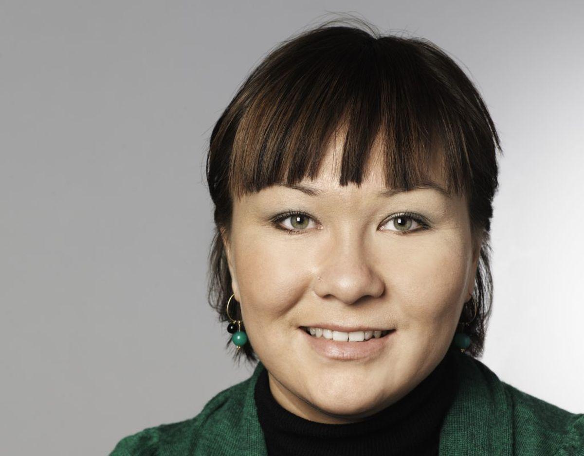 Juliane Henningsen var 23 år, 3 måneder og 14 dage gammel, da hun blev valgt til Folketinget for Inuit Ataqatigiit den 13. november 2007. Foto: Folketinget.