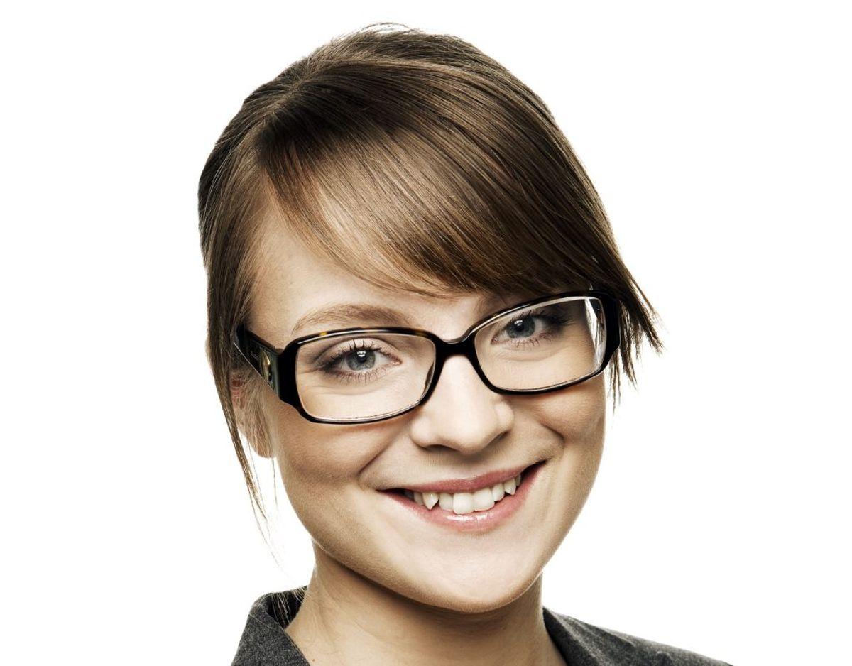 Nanna Westerby Jensen var 23 år, 4 måneder og 2 dage gammel, da hun blev valgt til Folketinget for SF den 13. november 2007. Foto: Folketinget.