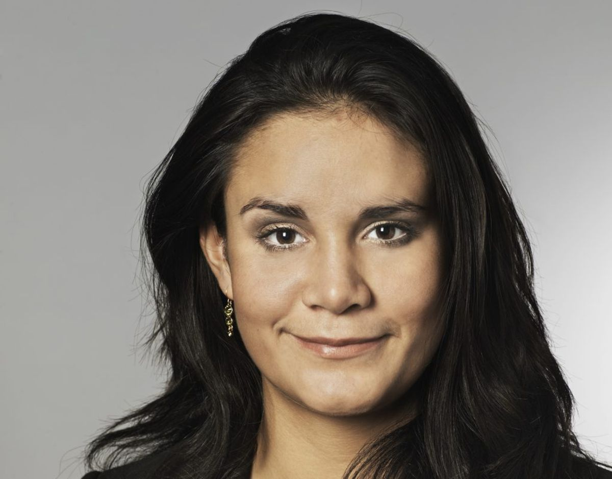 Julie Rademacher var 23 år, 6 måneder og 29 dage gammel, da hun blev valgt til Folketinget for Socialdemokratiet den 13. november 2007. Foto: Folketinget.