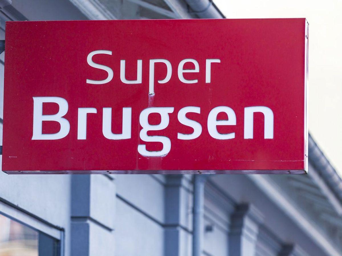 Den tilbagekaldte lakrids er blandt andet solgt i SuperBrugsen. Foto: Thomas Rousing/Ritzau Scanpix