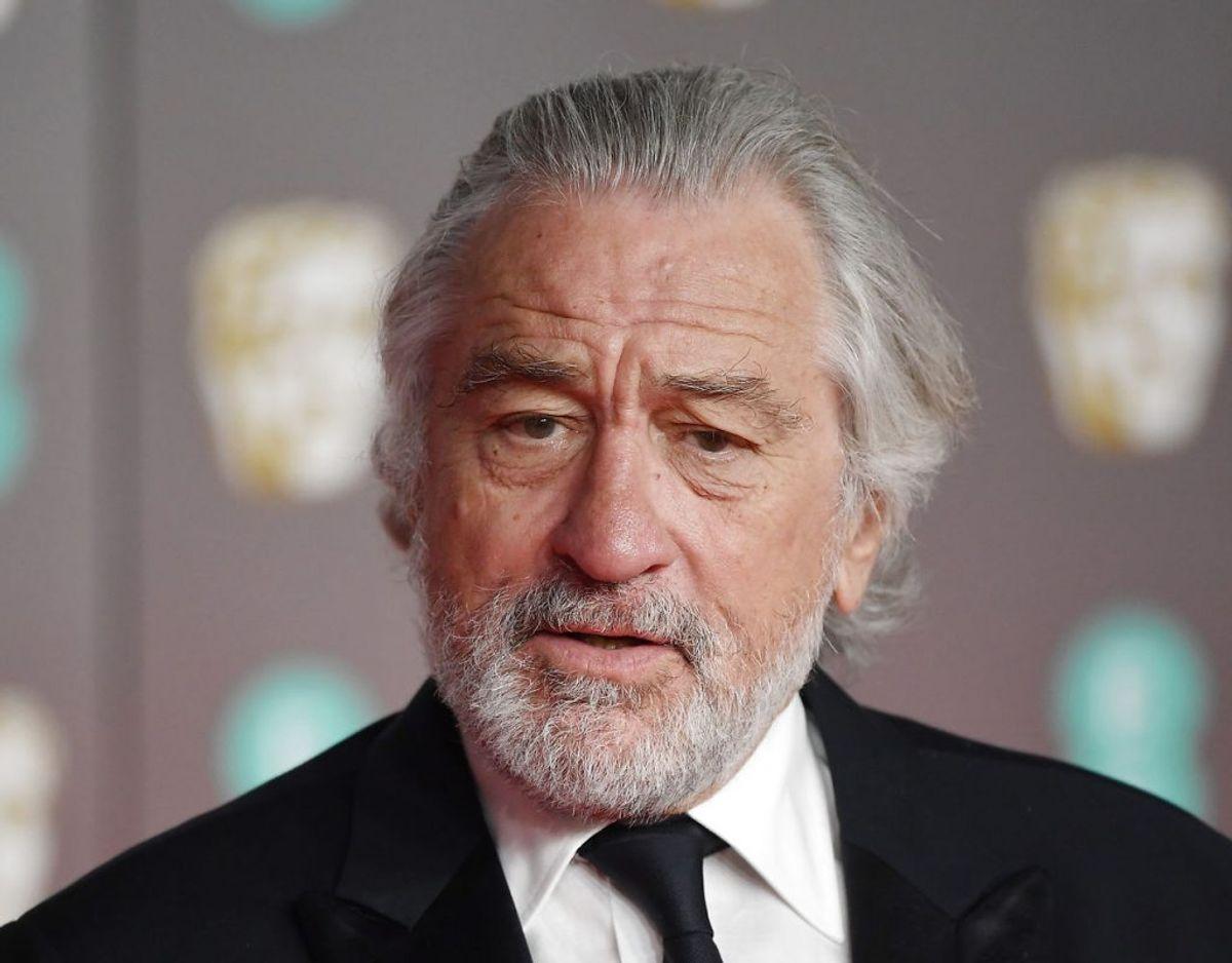 Der forelægger ikke oplysninger om omfanget af den skade, Robert De Niro har pådraget sig. Foto: Scanpix/REUTERS/Toby Melville
