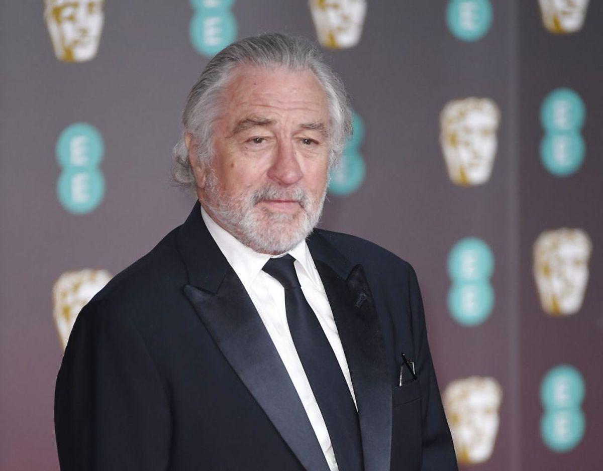 Robert De Niro har angiveligt pådraget sig en skade i sit ene ben i forbindelse med indspilningen af den nye Martin Scorsese film 'Killers of the Flowers'. Foto: Scanpix/REUTERS/Toby Melville