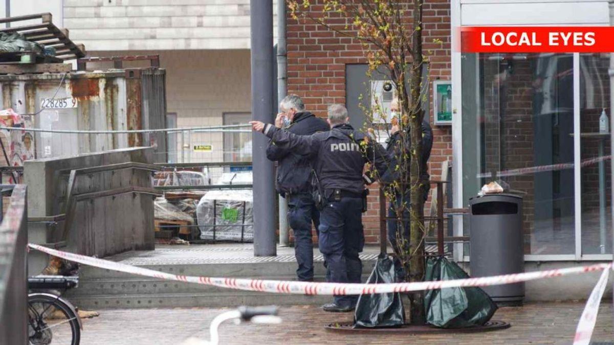 To personer er anholdt efter knivstikkeri i Odense. En 50-årig mand er indlagt. Foto: Local Eyes