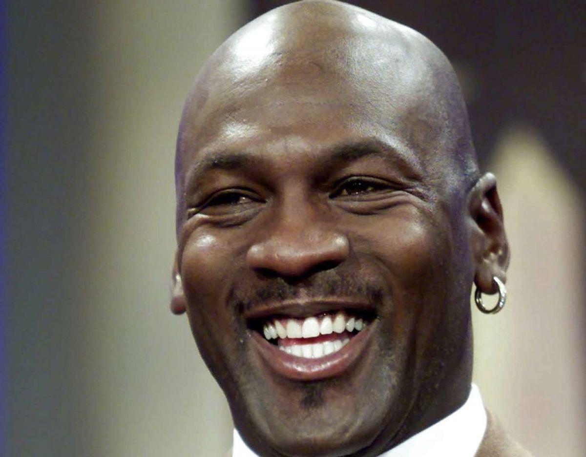 Michael Jordan regnes af mange for at være den bedste basketball spiller gennem tiderne. Foto: Scanpix/REUTERS/William Philpott