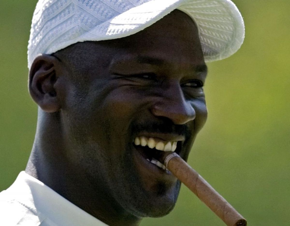 Michael Jordan fik i år 2000 plads i Naismith Memorial Basketball Hall of Fame. Foto: Scanpix/REUTERS/Chris Keane