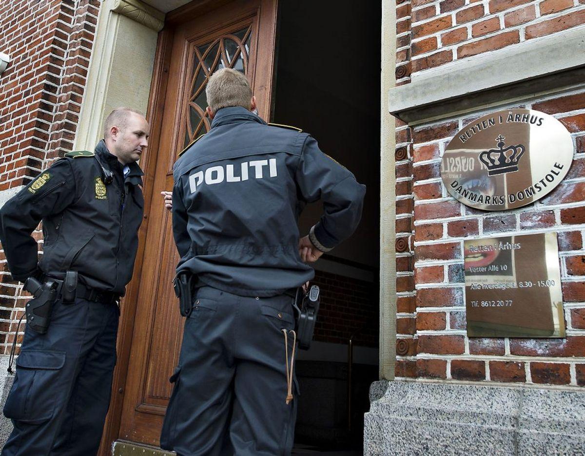 Manden blev dømt her i Retten i Aarhus. Arkivfoto: Henning Bagger/Scanpix