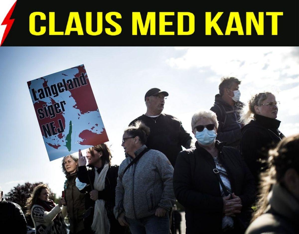 Langeland gør oprør. Foto: Tim Kildeborg Jensen/Ritzau Scanpix