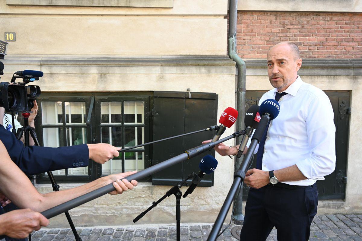 Sundhedsminister Magnus Heunicke (S) var fuld af optimisme inden onsdagens forhandlinger om yderligere genåbning.