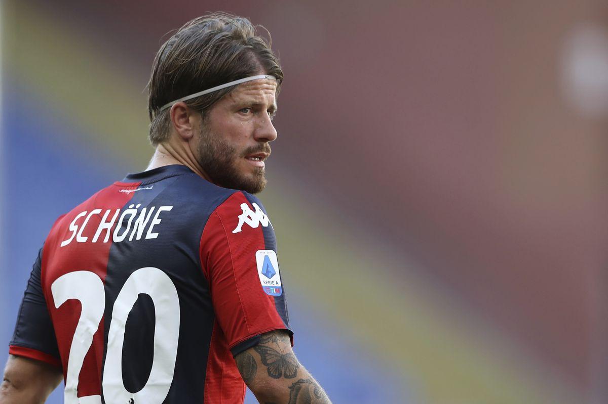 Lasse Schöne var ikke en af de 26 spillere, Kasper Hjulmand tog med i sin EM-trup. (Arkivfoto).