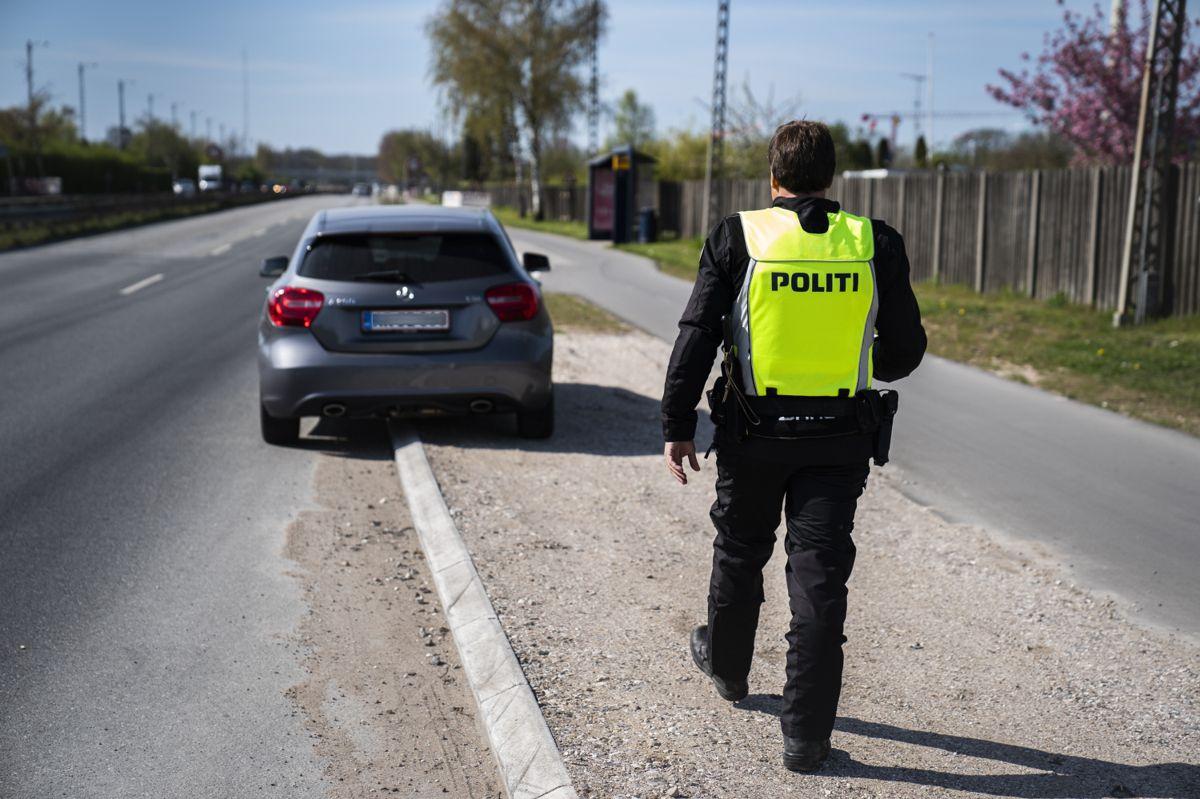Retten i Glostrup skal torsdag afgøre, om politiet må konfiskere bilen fra en person på grund af vanvidskørsel, selv om det ikke er ejermanden selv, der har bedrevet vanvidskørslen. (Arkivfoto)