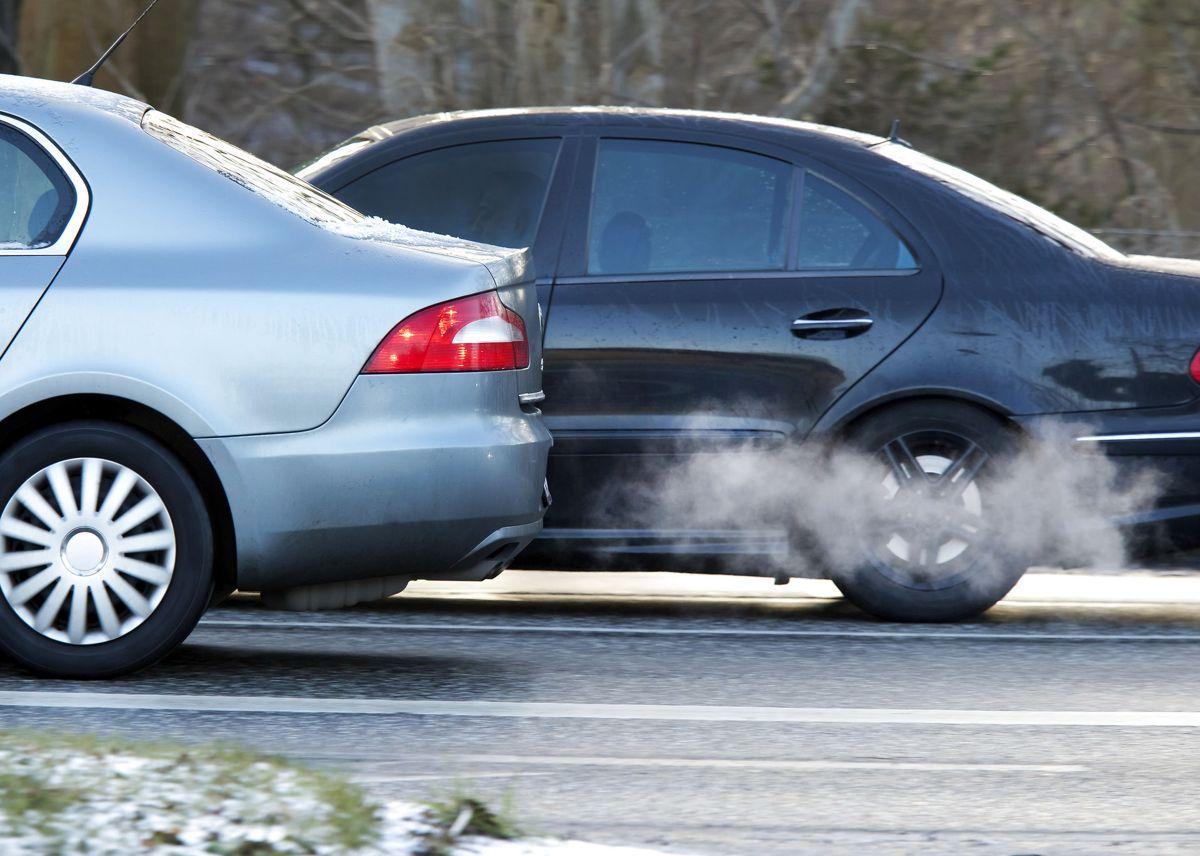 Kvinden mister sin bil, da hendes kæreste kørte for vildt. Foto: Mads Jensen