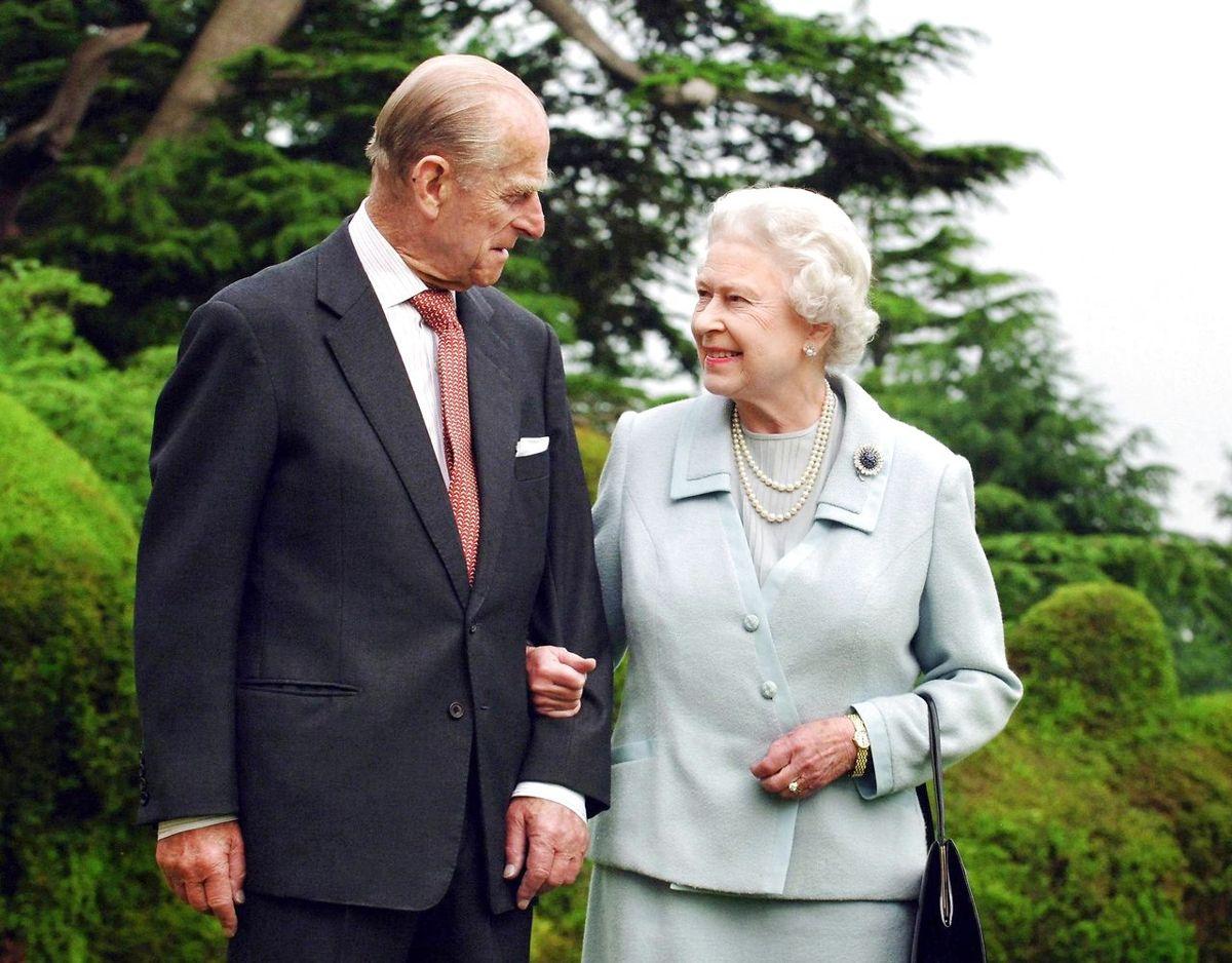 Prins Philip og dronning Elizabeth nåede at være gift i næsten 73 år. Foto: Scanpix/REUTERS/Fiona Hanson/Pool