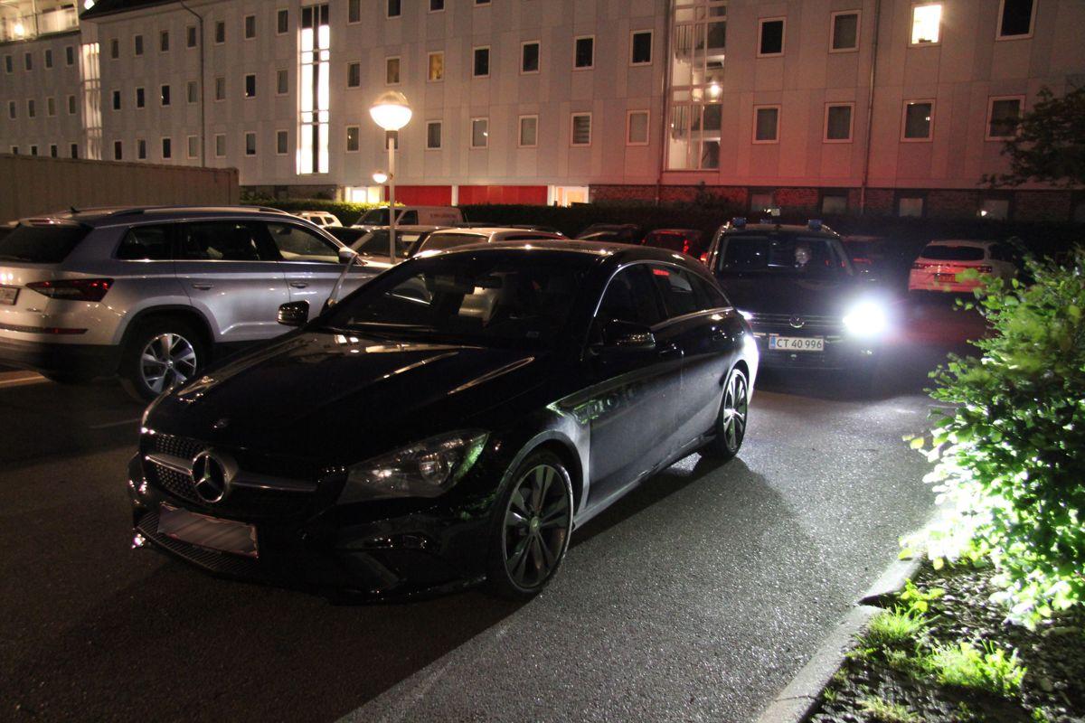 Mister Mercedes efter biljagt