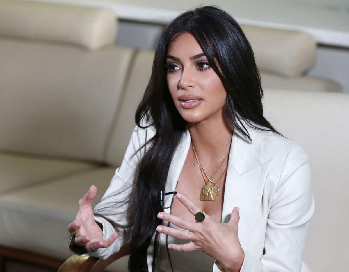 I finaleafsnittet af reality-showet 'Keeping Up With The Kardashians' røber Kim Kardashian, at hun for anden gang er dumpet til eksamen efter første semester på jurastudiet. Foto: Scanpix/Baghdasaryan/Photolure via REUTERS