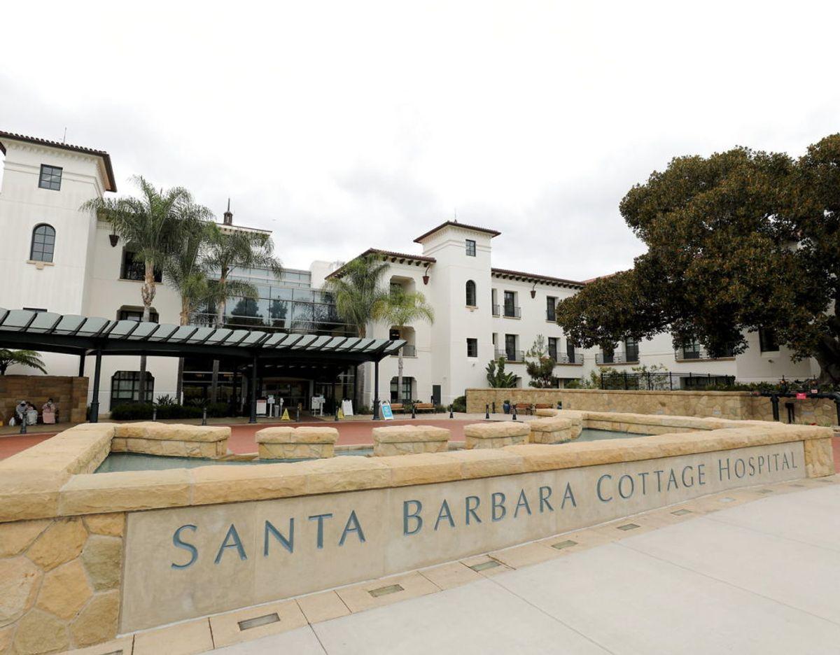 Santa Barbara Cottage Hospital hvor lille Lilibet Diana kom til verden den 4. juni klokke 11.40 lokal tid. Foto: Scanpix/REUTERS/Daniel Dreifuss