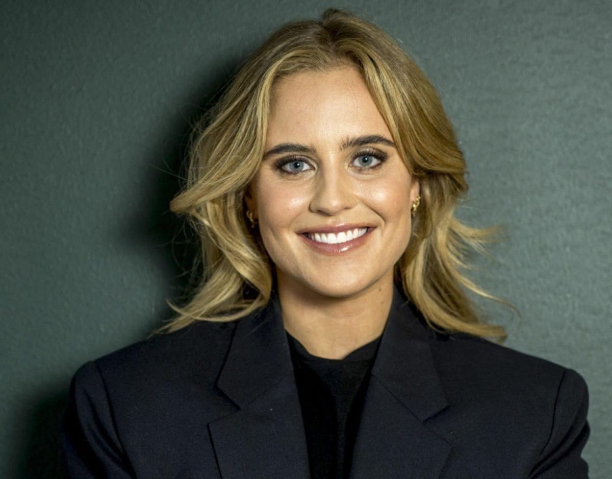 Sarah Bro satser på en ny karriere inden for tv-branchen, og nu springer hun ud som vært. Foto: Per Arnesen/Discovery/Free