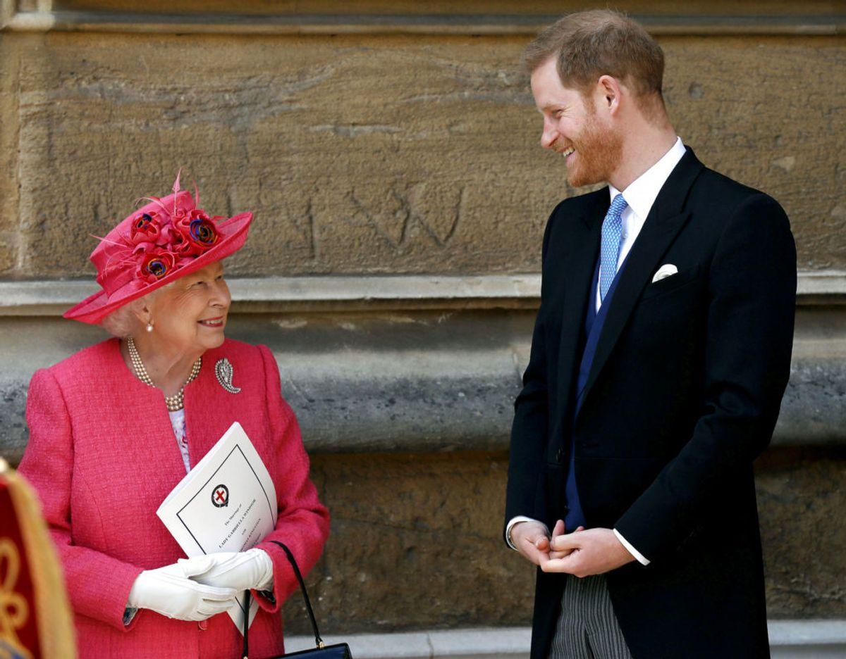 Dronning Elizabeth var en af de allerførste, som blev introduceret for prins Harrys nyfødte datter Lilibet. (Arkivfoto). Foto: Steve Parsons/REUTERS