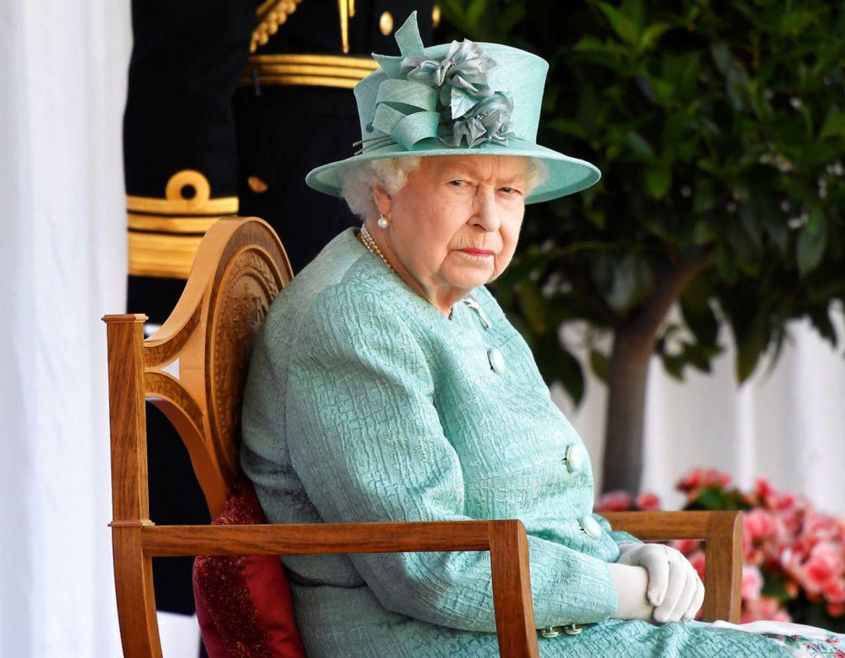 Dronning Elizabeth ved fejringen af sin fødselsdag den 13. juni 2020. Foto: Scanpix/REUTERS/Toby Melville/Pool