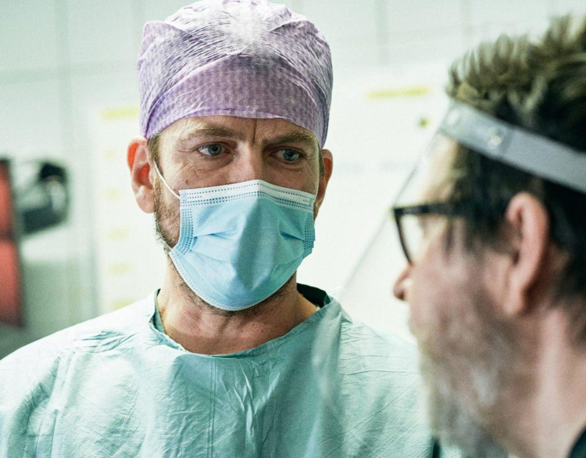 """Nikolaj Lie Kaas skal spille den indebrændte reservelæge Filip Naver i den nye sæson af """"Riget"""". Foto: Henrik Ohsten."""