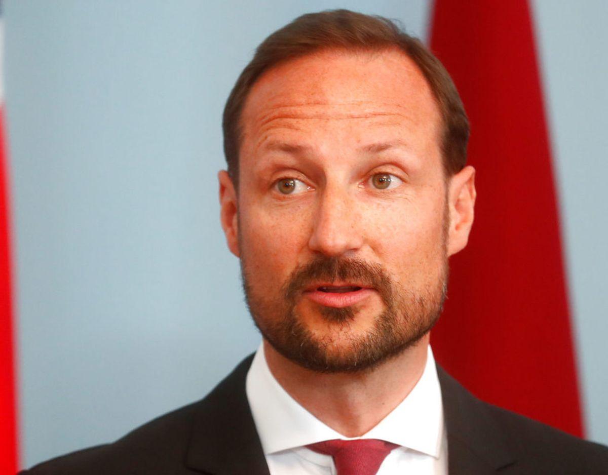 Norske kronprins Haakon er ekstraordinært blevet tildelt corona-vaccination i 'utide' af den norske regering. Foto: Scanpix/REUTERS/Ints Kalnins