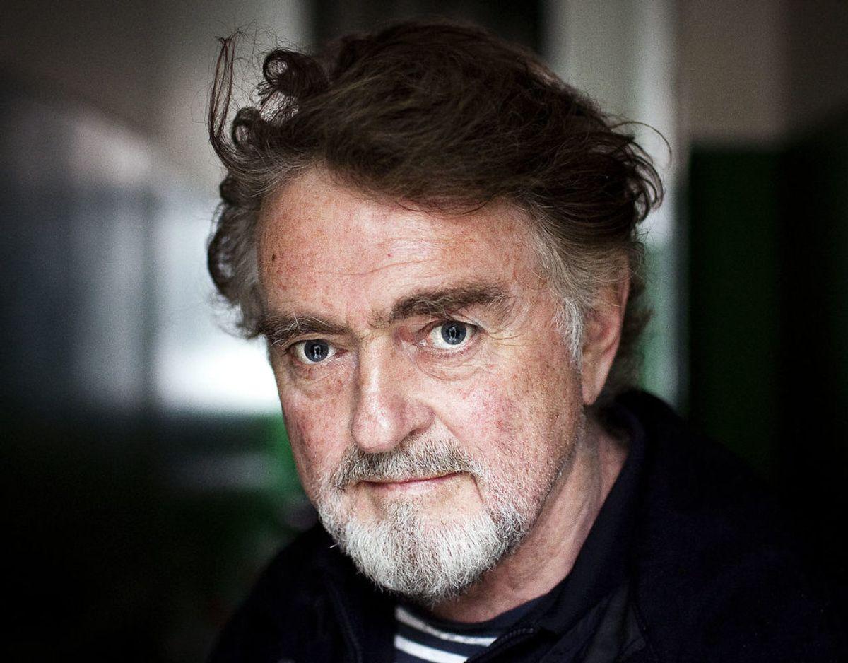 Erik Clausen filminstruktør og maler. Arkivfoto: Niels Ahlman Olsen