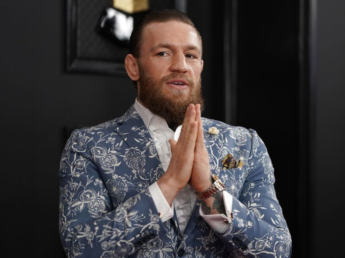 Conor McGregor har tjent 180 millioner dollar i løbet af det seneste år. (Arkivfoto) Foto: REUTERS/Mike Blake