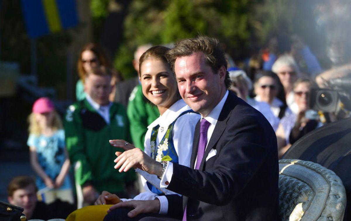 Chris O'Neill er gift med Madeleine og han rager 180 centimeter i vejret. Foto: Scanpix