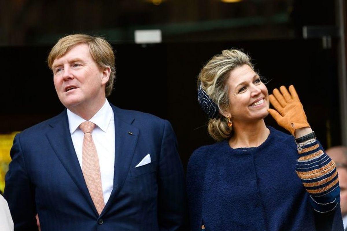I Holland er  Willem-Alexander 183 centimeter høj. Foto: Scanpix