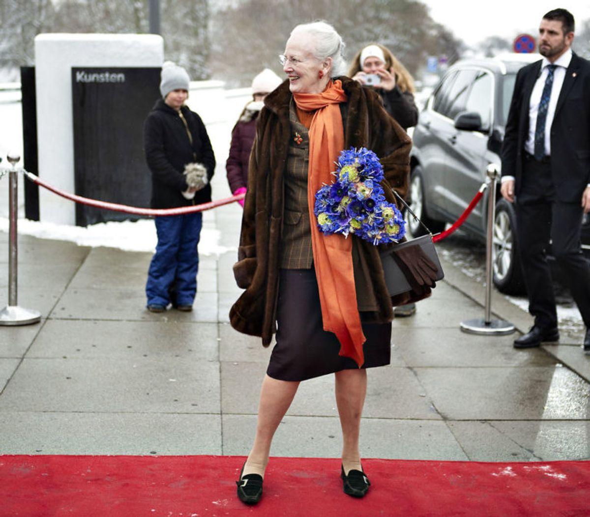 Dronning Margrethe er 182 centimeter høj – og dermed en af de højeste kvinder. Foto: Scanpix