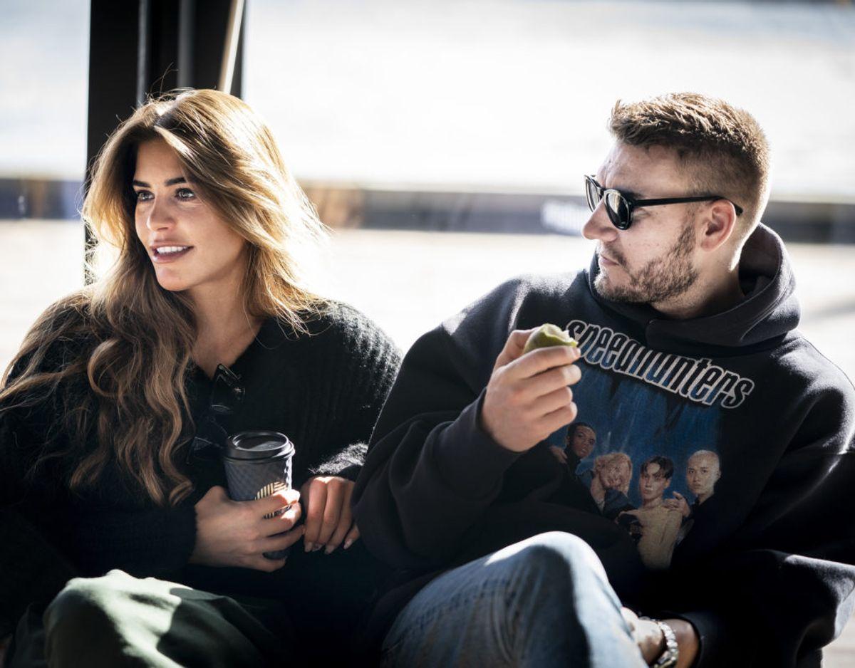 """Den kendte fodboldspiller Nicklas Bendtner og modellen Philine Roepstorff gik fra hinanden i slutningen af marts 2021. Torsdag den 20. maj vender de tilbage på skærmen med en ny omgang af """"Bendtner & Philine"""". (Arkivfoto) – Foto: Liselotte Sabroe/Ritzau Scanpix"""