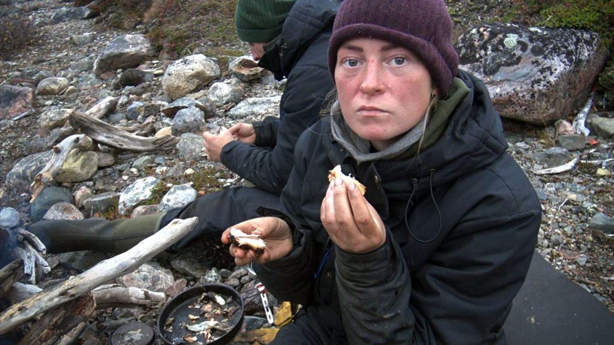 Kæresteparret Ann og Bjørn fra DR-programmet 'Alene i vildmarken' er gået fra hinanden efter deres medvirken. Foto: United/DR