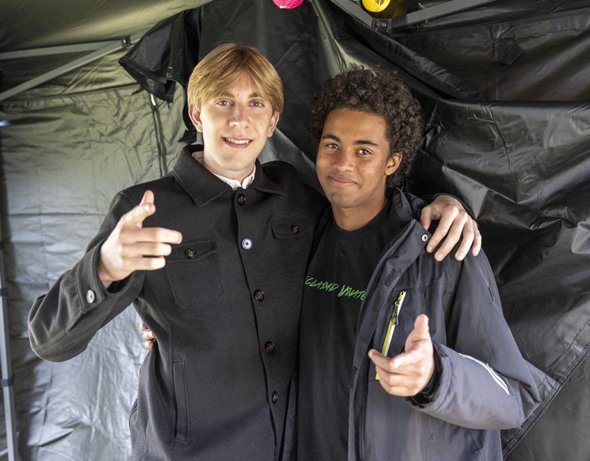 Simon Kozma og Marcus Enevoldsen – Foto: René Lind Gammelmark